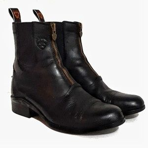 Ariat Zip Paddock Booties Lightweight Waterproof 7